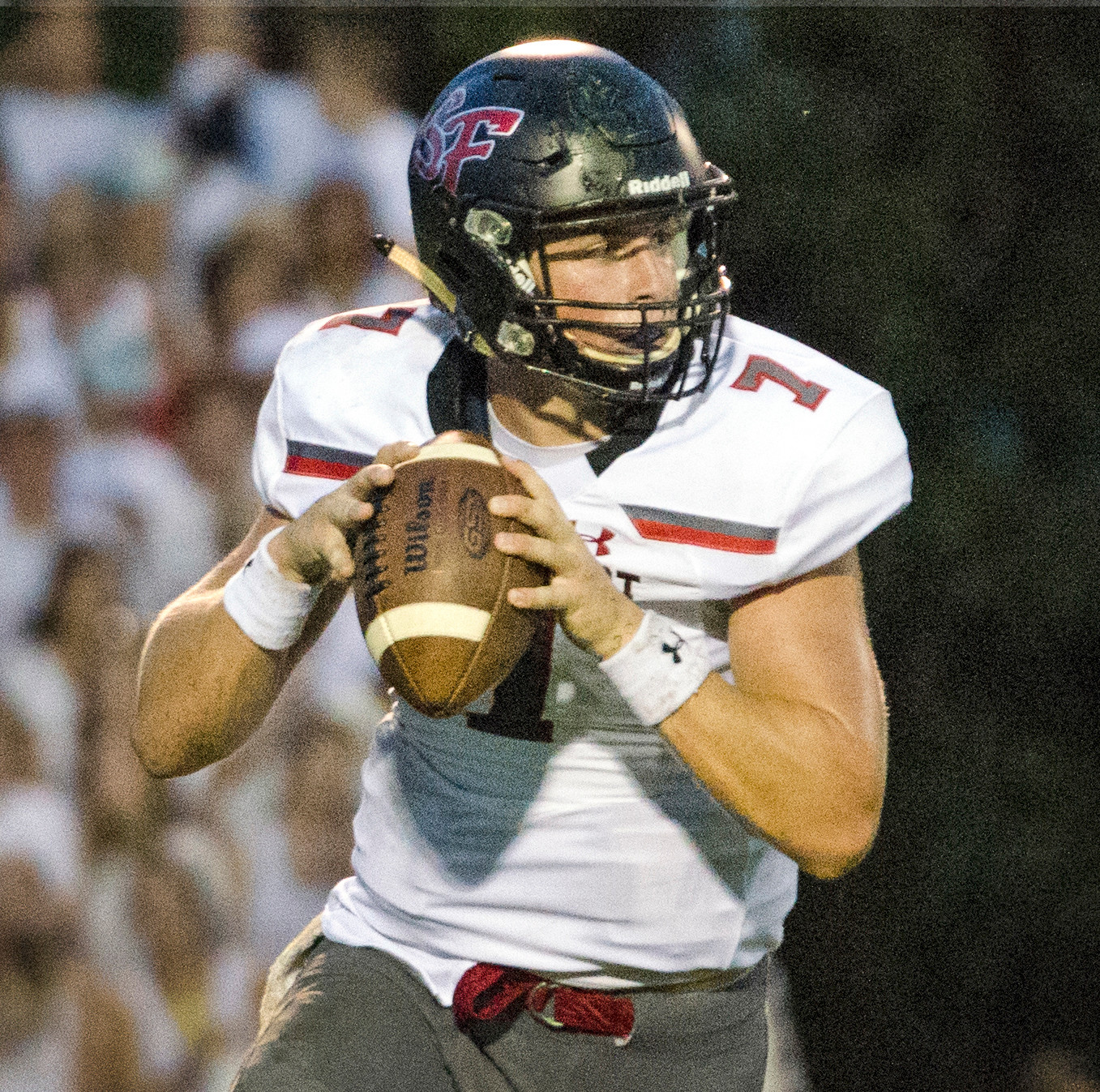 Jack Samsel led the Toros' offense with six touchdowns: Five passing and one rushing against Lanier.