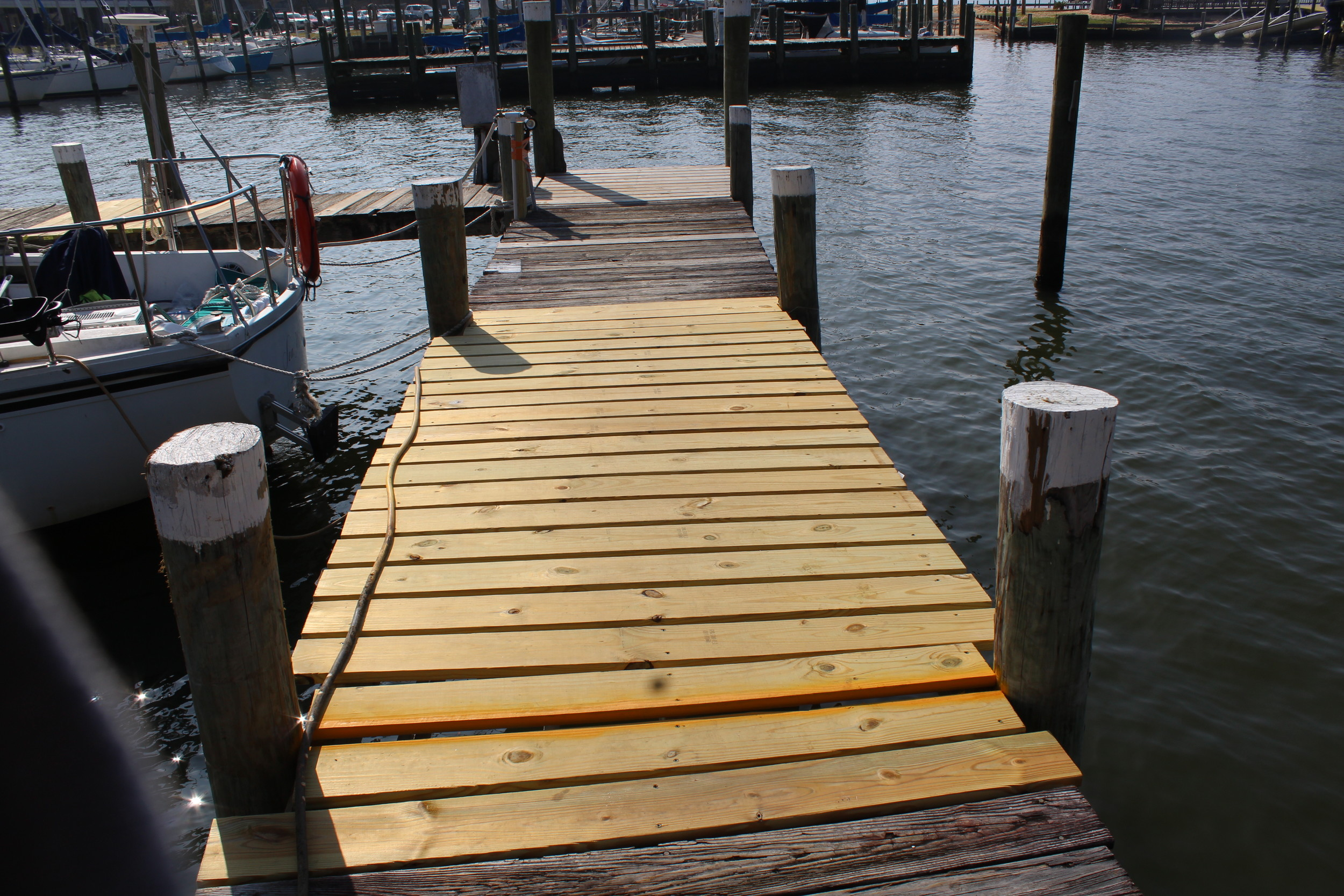 Hurricane Nate recently damaged some portions of the Fairhope Docks. The city has been able to fix some vital portions already, but is currently waiting for FEMA's response to address other damages caused.