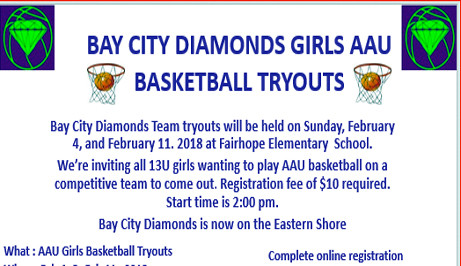 Bay City Diamonds is now on the Eastern Shore