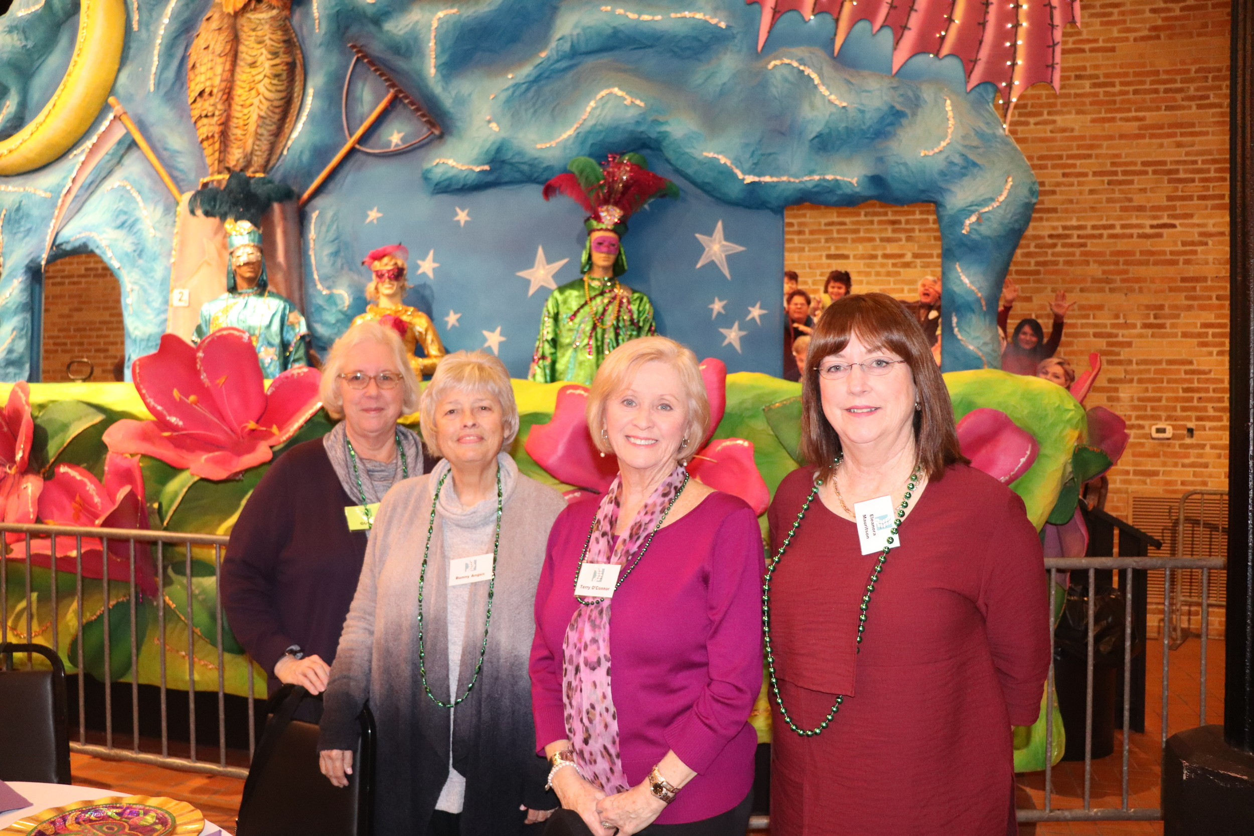 Members of S.E.L.F. of the Eastern Shore enjoy a social meeting at the Mobile Carnival Museum earlier this month. The organization helps connect women to volunteer opportunities throughout Baldwin County.