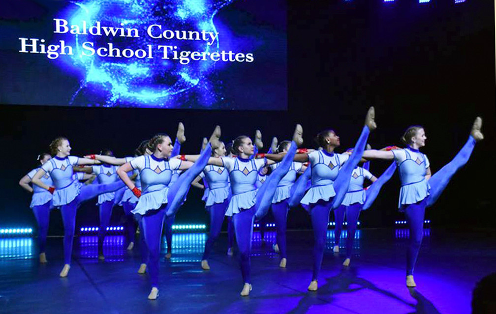 Baldwin County High School Tigerettes ranked No. 6 in the nation.