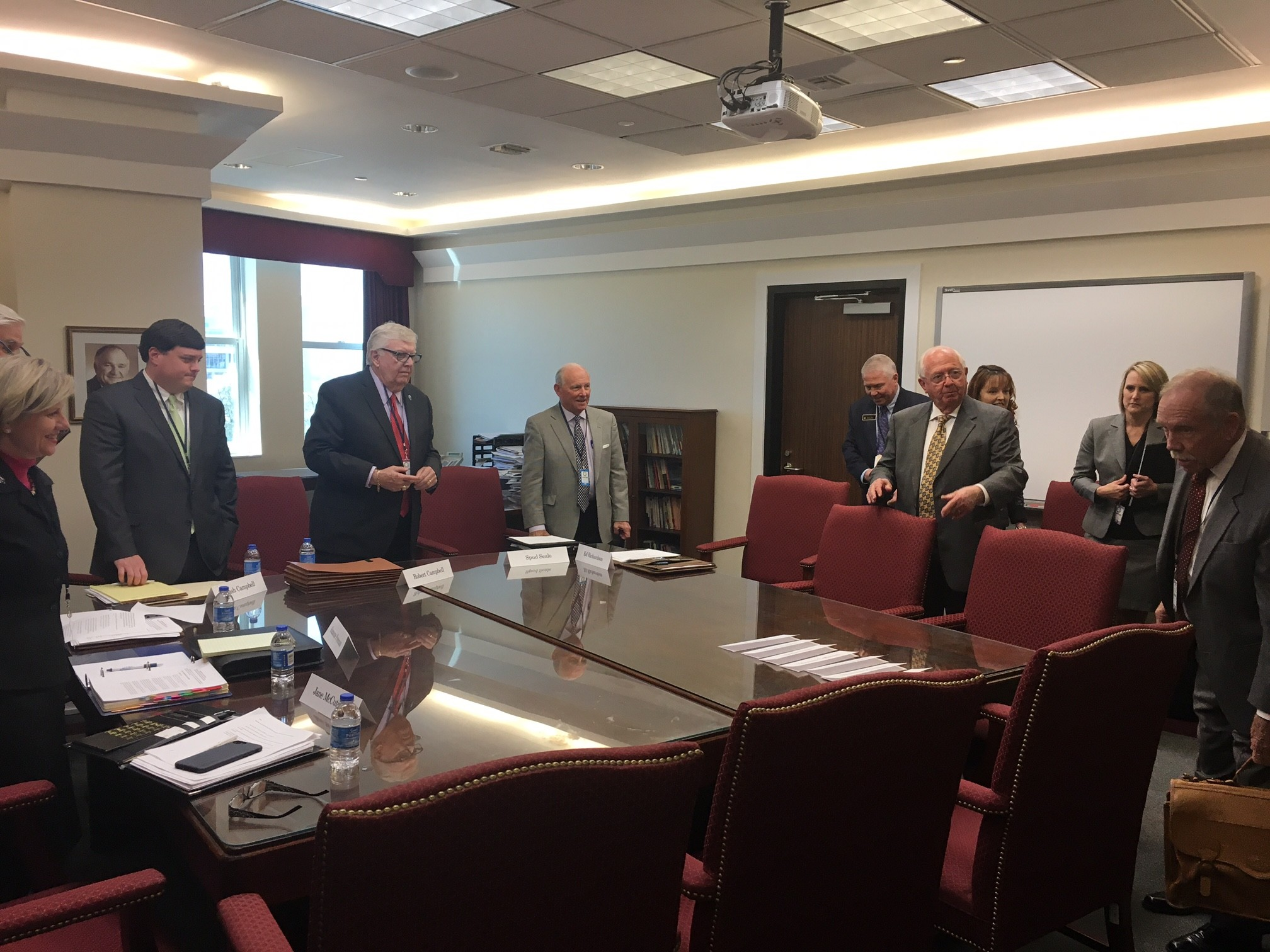 Officials from the Baldwin County School System and Gulf Shores City School System met with State Superintendent Ed Richardson Tuesday about the ongoing negotiations involved in the Gulf Shores school split.