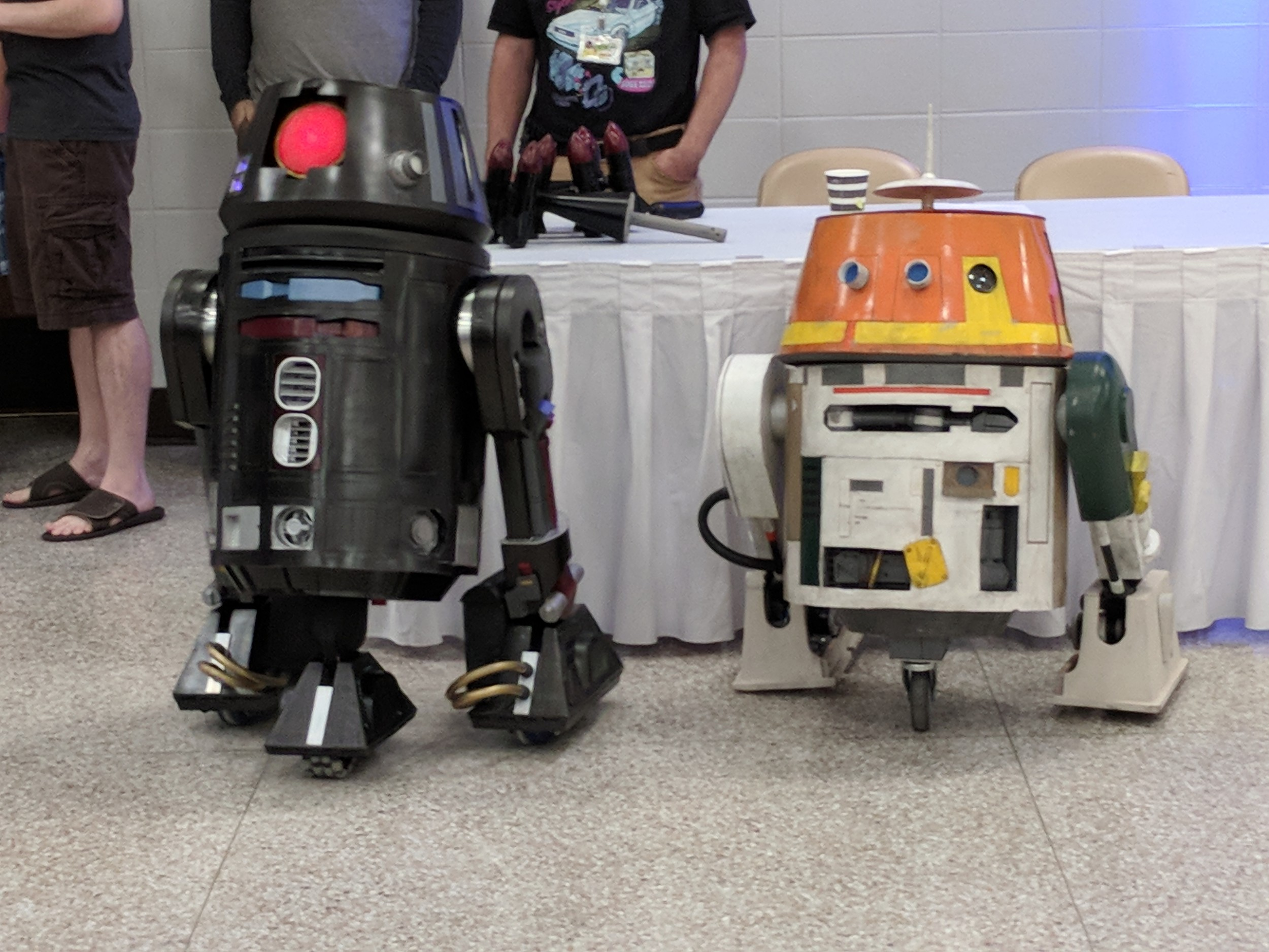 Foley has the droids that you are looking for.
