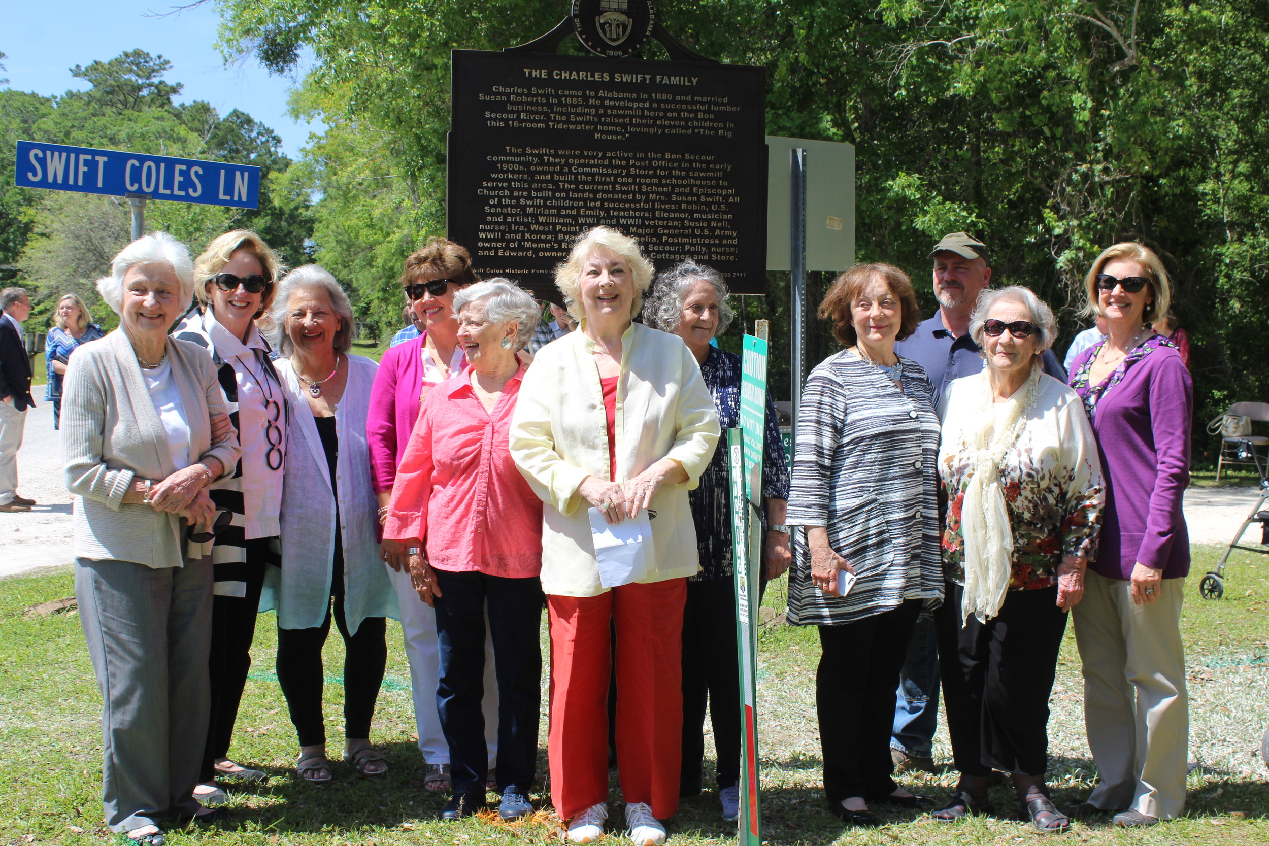 Swift-Coles Home memorialized with new historical marker