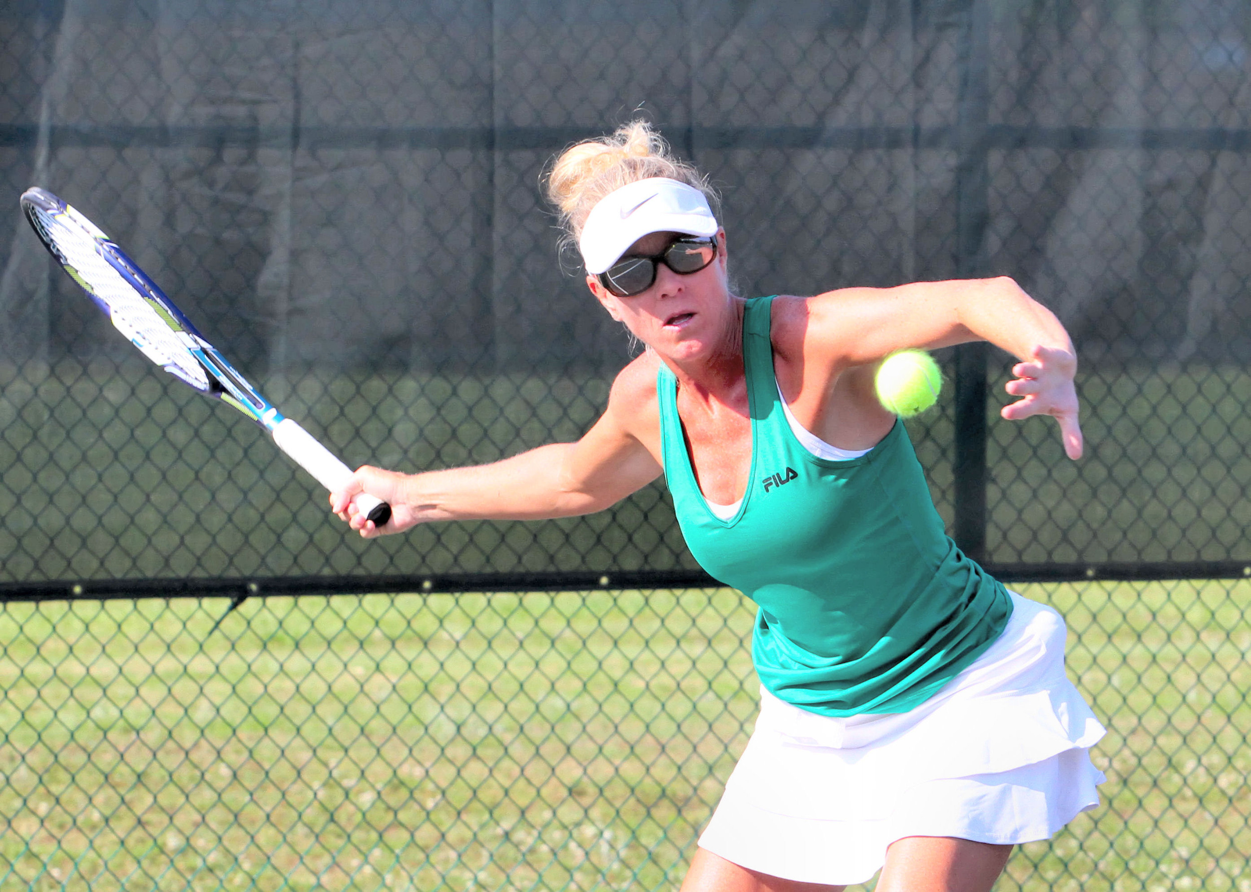 The Mike Ford Tennis Center hosted the Southern Senior USTA 300 tourney May 17-20.