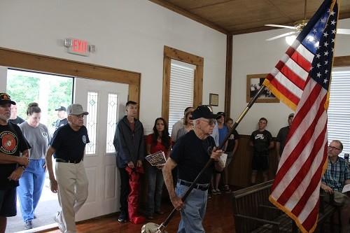 Kucera and the Gear Jammers also hosted a remembrance on Memorial Day, although the event was moved indoors to the Little Bohemian Hall in Silverhill.
