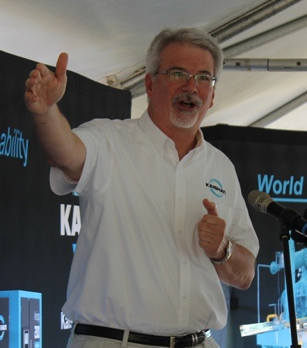 Keith Schumacher, CEO of Kaishan Compressor USA.