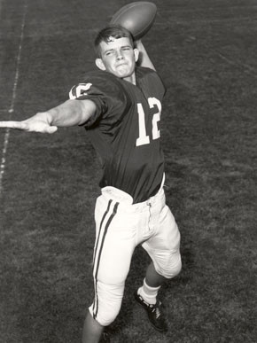 Ken Stabler during his Foley High career.