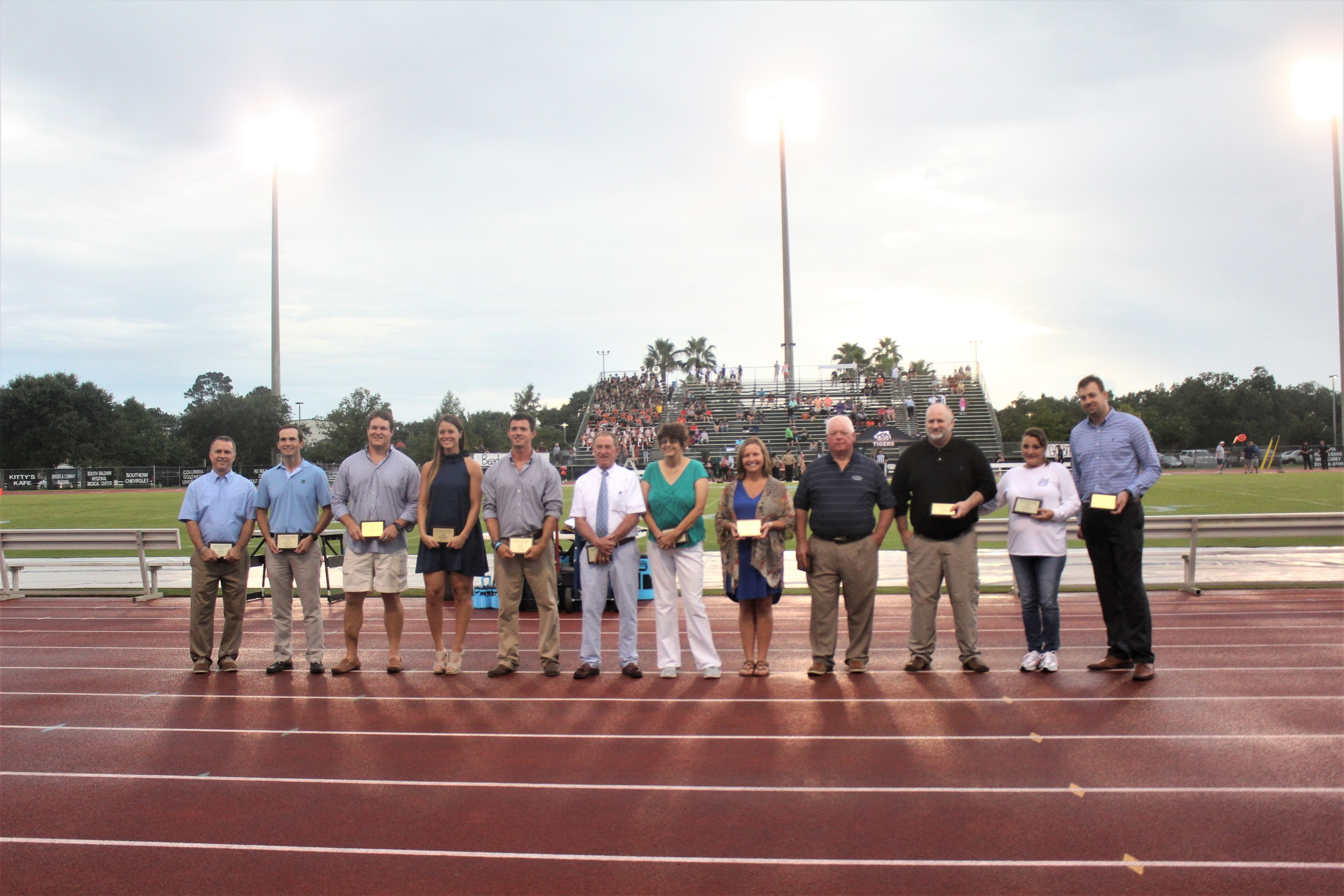 Member of the Class of 2018 include Wing Brett, Brandon Ellis, Logan Hickman, Haley Hopkins, DJ Jones, Danny Martin, Re Re Machen, Brandy Rhodes Reeves, Harold Samples, Donnie Spohn, Gary Johnston and Pat Wilkinson.