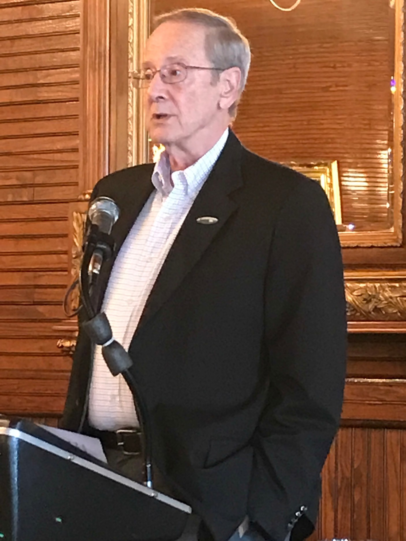 Foley Mayor John Koniar was the special guest speaker at the Foley Women's Club Kickoff Event.