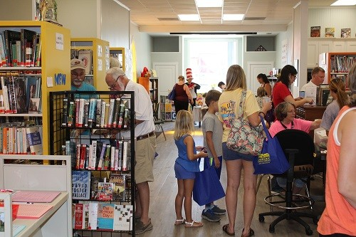 The town of Loxley showed off its newly renovated Public Library on Saturday.