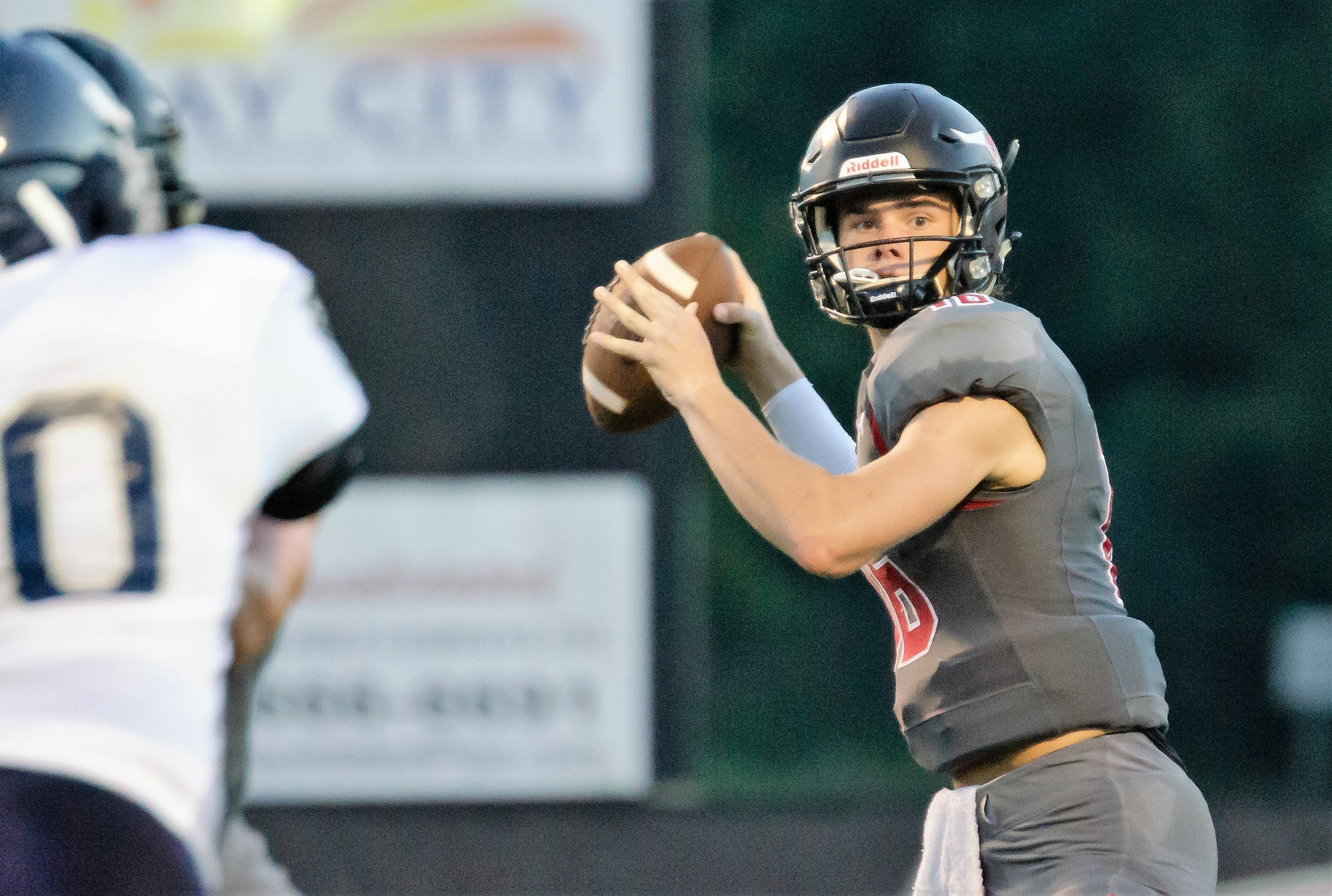 Jackson Burkhalter and the Toros defend The Hill Friday night as county rival Robertsdale visits Spanish Fort.