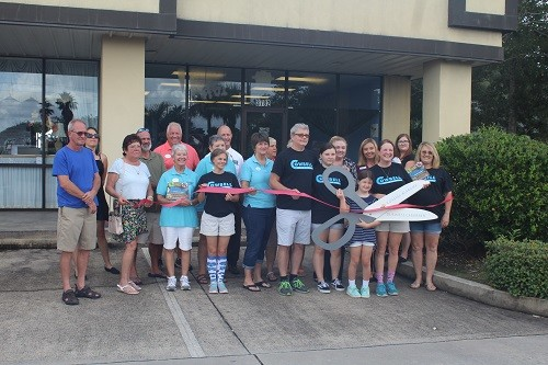 The Coastal Alabama Chamber of Commerce held a ribbon cutting during the grand opening of Cowbell Rolled Ice Cream on Thursday, Sept. 27 at 3782 S. McKenzie St. (next to Sears) in Foley.
