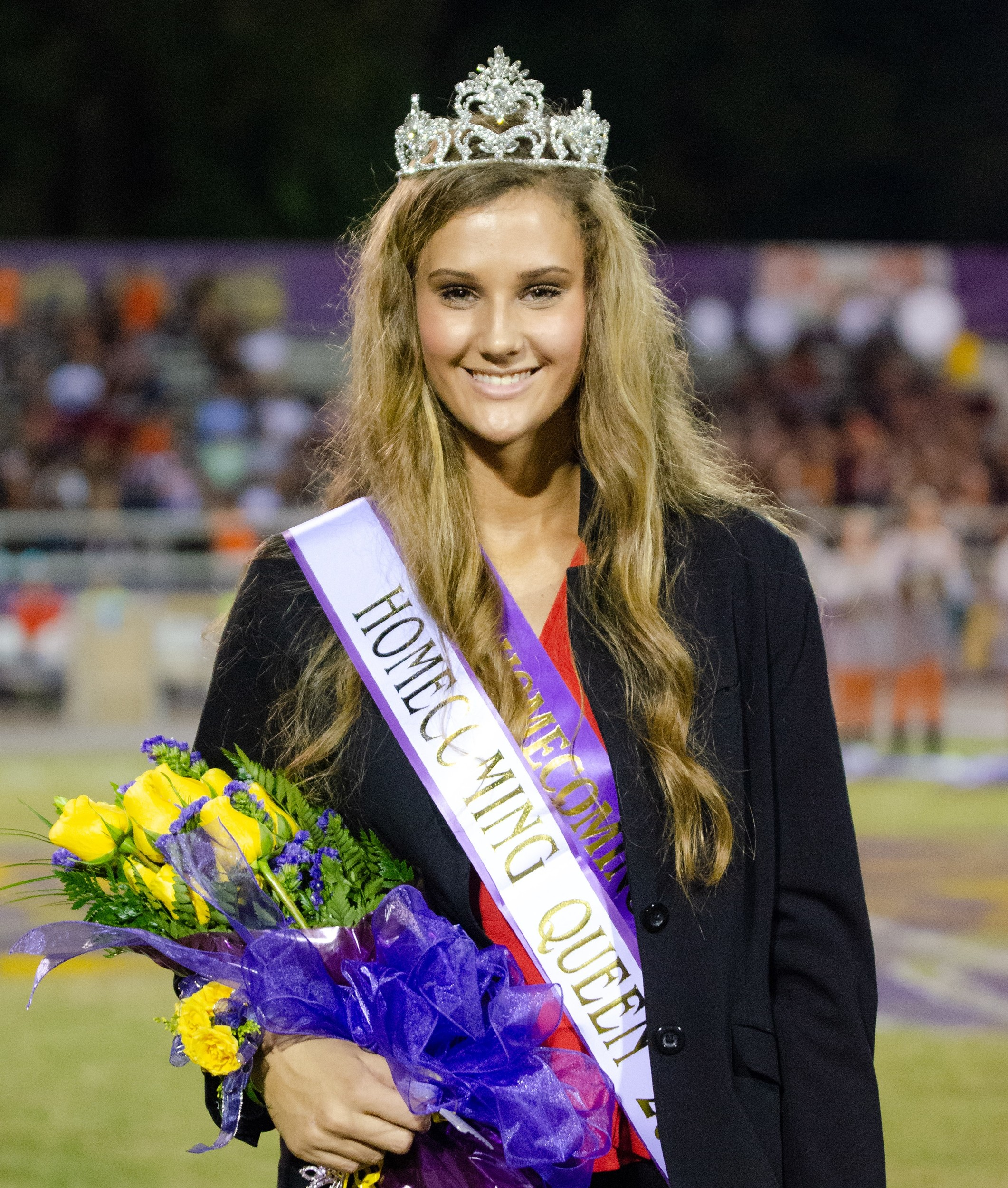 Homecoming Season at Jubilee Stadium - Senior Maura Grace Miles was named Daphne High 2018 Homecoming Queen  Oct. 5.