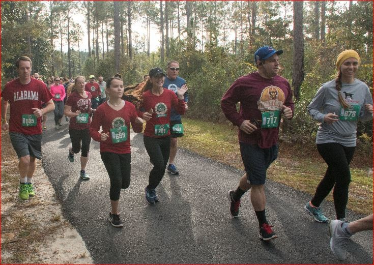 The annual Thanksgiving weekend tradition – Kaiser Realty by Wyndham Vacation Rentals Coastal Half-Marathon, 5K and 1-Mile Fun Run – takes place Saturday, Nov. 24, at the Orange Beach Sportsplex.