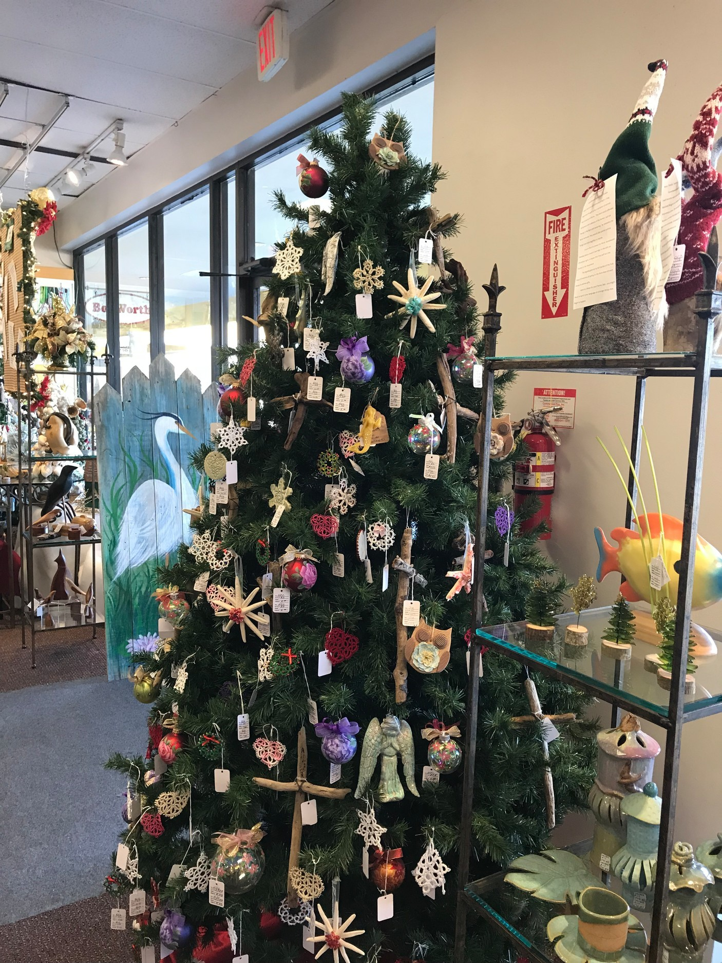 2017 Trim A Tree display.