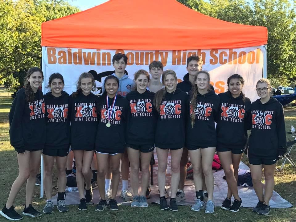 Lady Tigers and individual Boys-Division qualifiers headed to the 2018 state meet include Courtney Lewis, Diana Plascencia, Alondra Rangel, Amelia Dute, Peyton Franklin, Morgan Baker, Maddie Beaver, Anna Grace McKinnis, Kylee Wood, Ben White, Mason Brock and Graham Harvey.