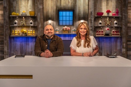 Judges Duff Goldman and Valerie Bertinelli