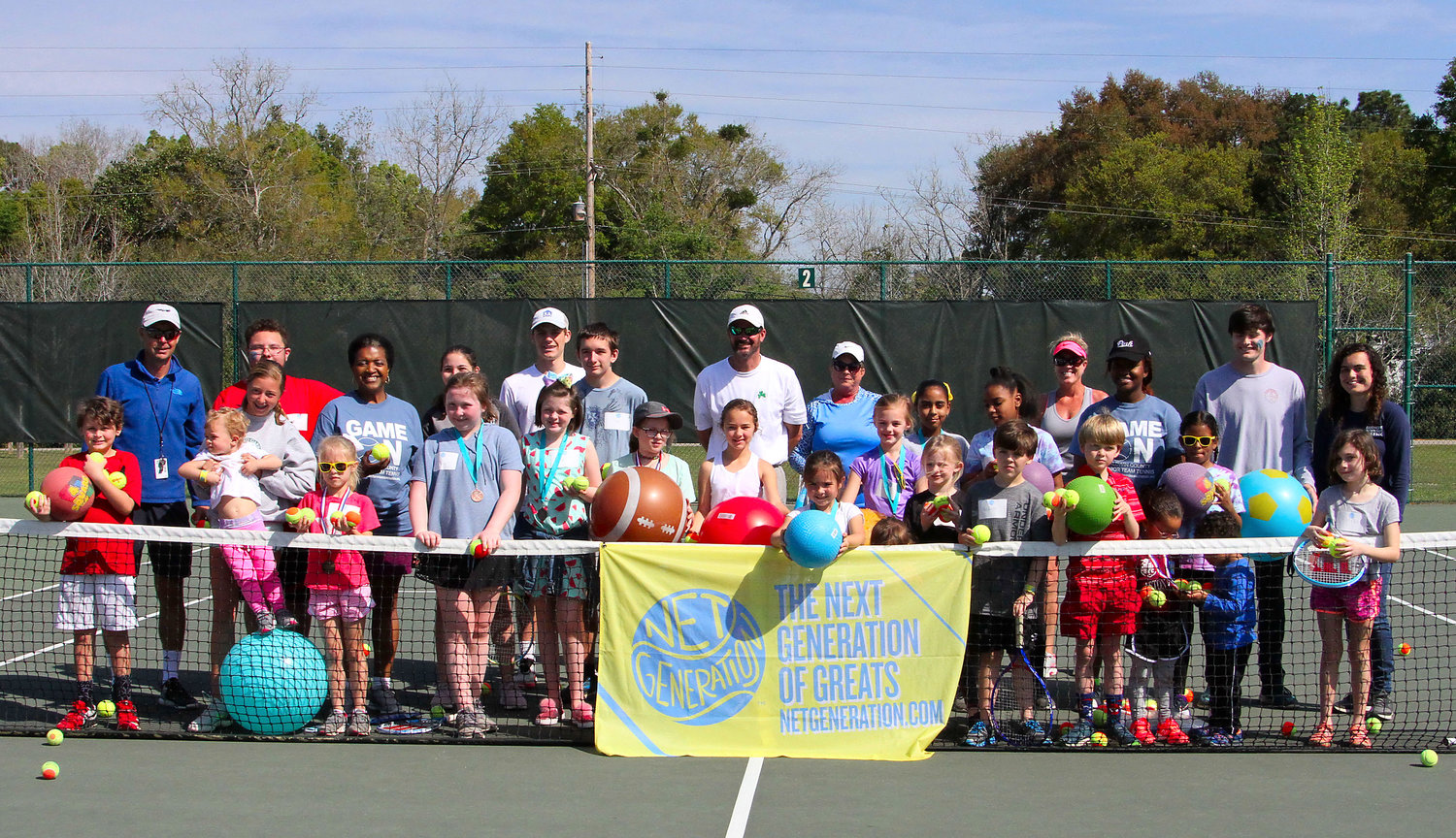 Net Generation - Team Challenge at Mike Ford Tennis Center in Fairhope.