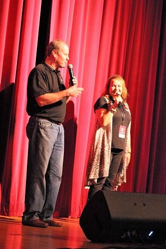 Saturday's performance was emceed by Dan Brennan and Shelby Mitchell from 95-KSJ.