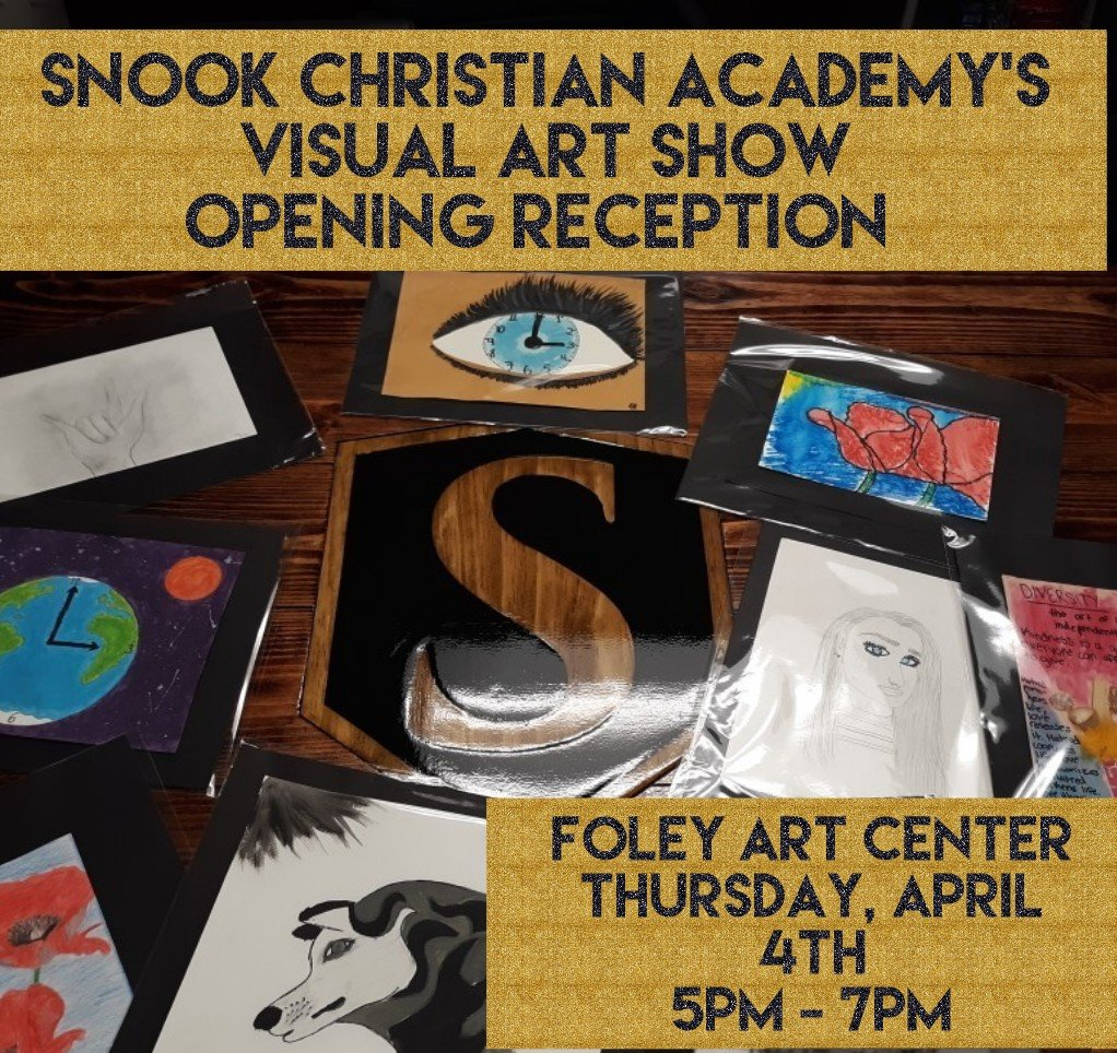 Snook students' artwork featured at Foley Art Center