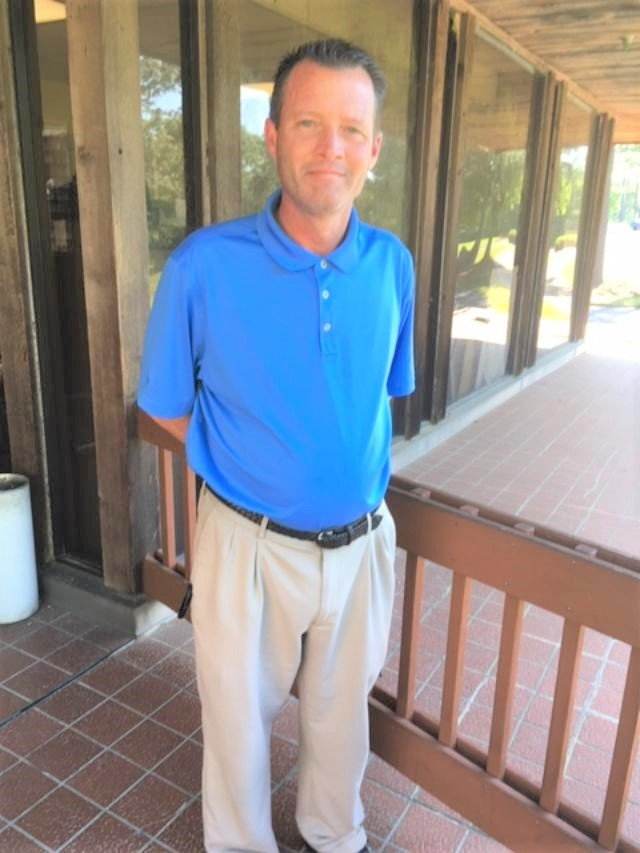 Brian Barker, head golf professional at Lake Forest.