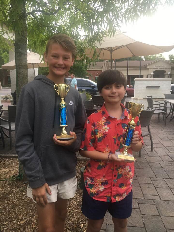 Sixth graders Jack Glisson and Jonas Healy placed fourth in the statewide competition and second among Fairhope Intermediate Students.