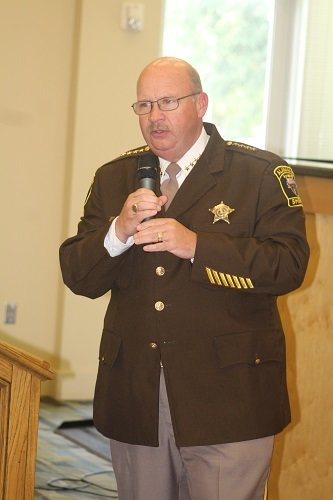Baldwin County Sheriff Hoss Mack was the guest speaker.