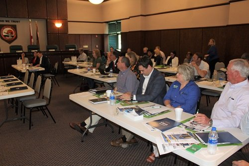 About 25 lending and small business professionals participated in the first Rural Strong Workshop in Alabama, hosted by the North Baldwin Chamber of Commerce in partnership with the USDA, US SBA and Alabama SBDC.