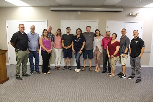 It was a light turnout at the Central Baldwin Networking Group meeting on Tuesday, May 14. The group generally averages about 25 members per meeting.