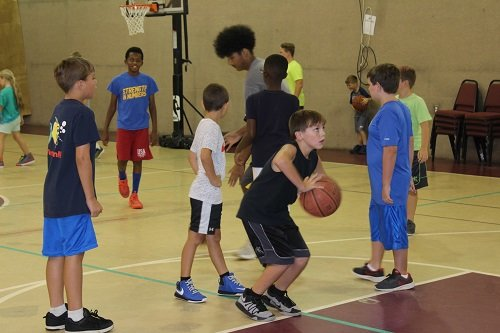 Summer sports camps will kick off this year with a girls' and boys' basketball camp in the gym at the old First Baptist Church facility on St. Paul Street and a boys' baseball camp at Garrett Park.