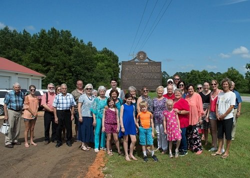 Members of the Elsanor community, Baldwin County Historic Development Commission and Baldwin County officials dedicated a historic marker Sunday, June 23 at the Elsanor Community Center on U.S. 90, east of Robertsdale.