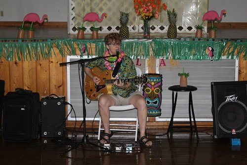 Entertainment was provided by Lisa Christian.