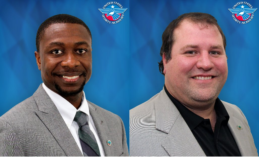 Dr. Brandon Spradley, left, and Robert Herron.