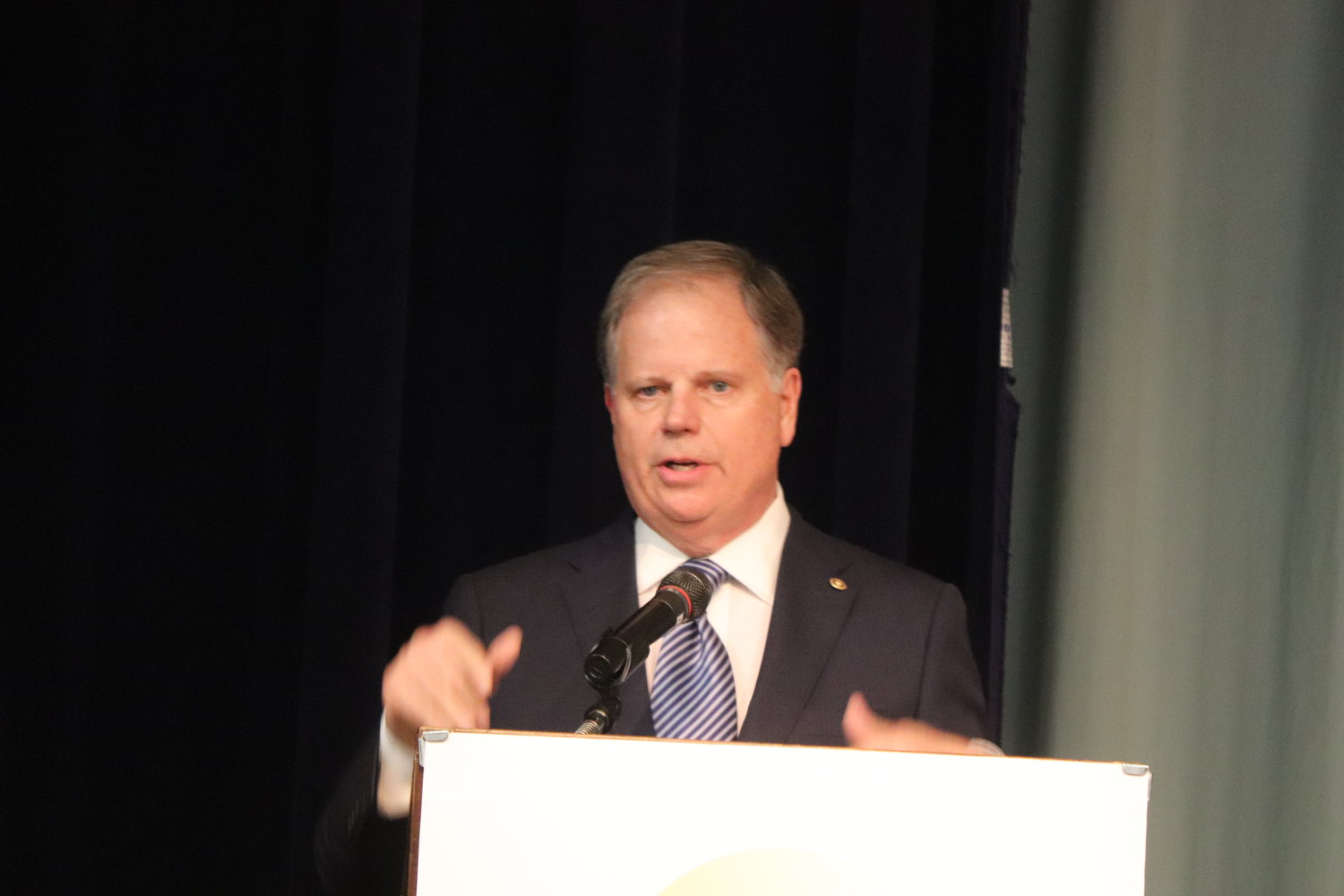 U.S. Senator Doug Jones addressed the 7th annual Freedom Fund Banquet of the Baldwin County NAACP #560E last week.