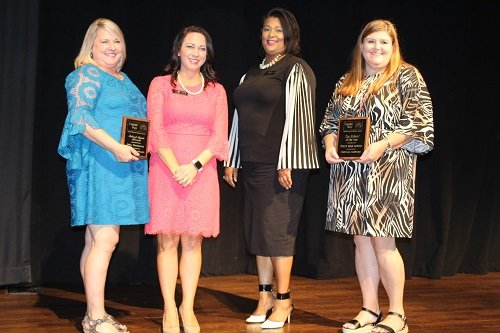Top School Campaign went to Foley High School and School Spirit award went to Delta Elementary.