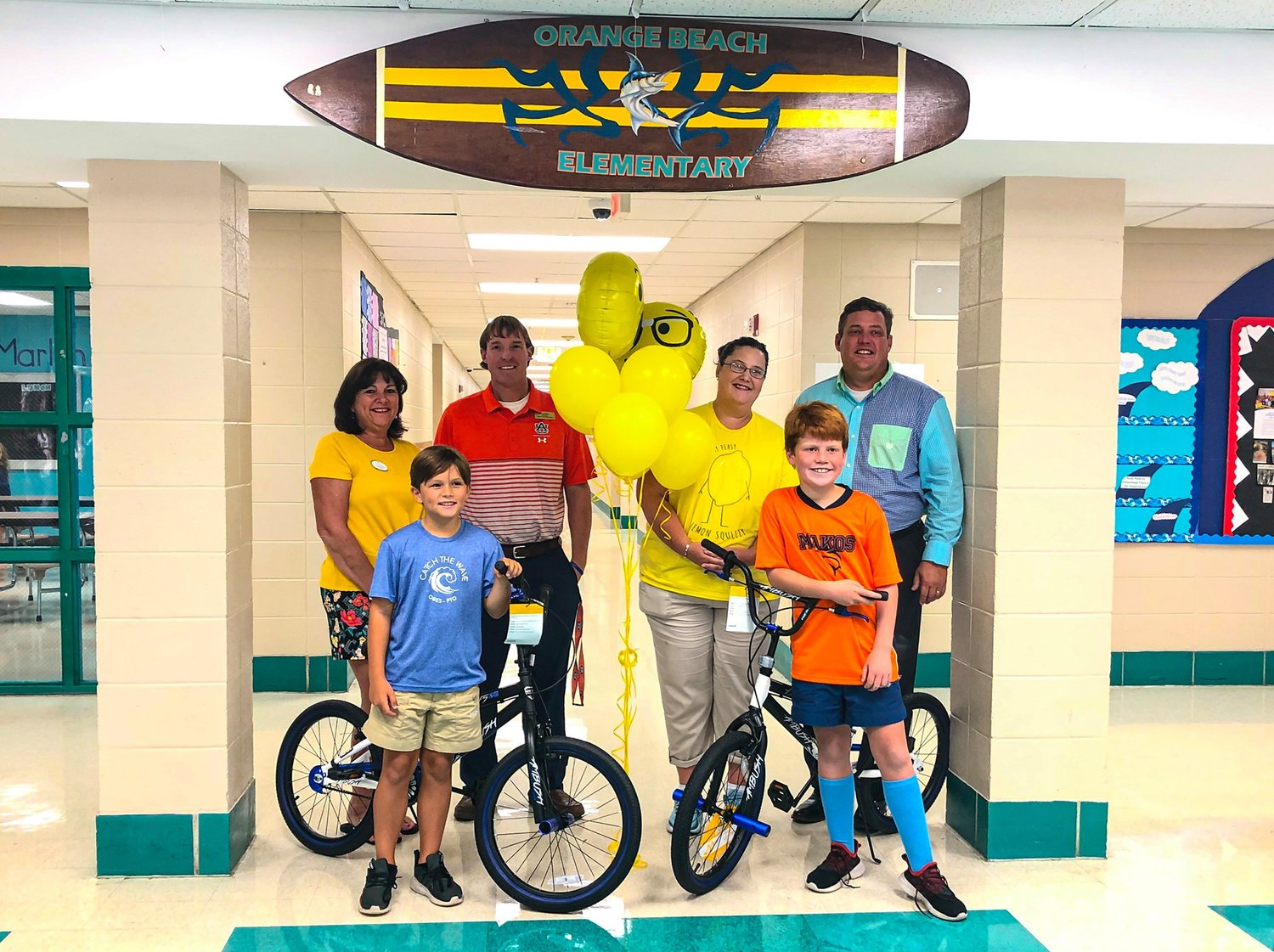 Walker Long and Finn Bussey are the 2019 Lemonade Day – Coastal Alabama winners.