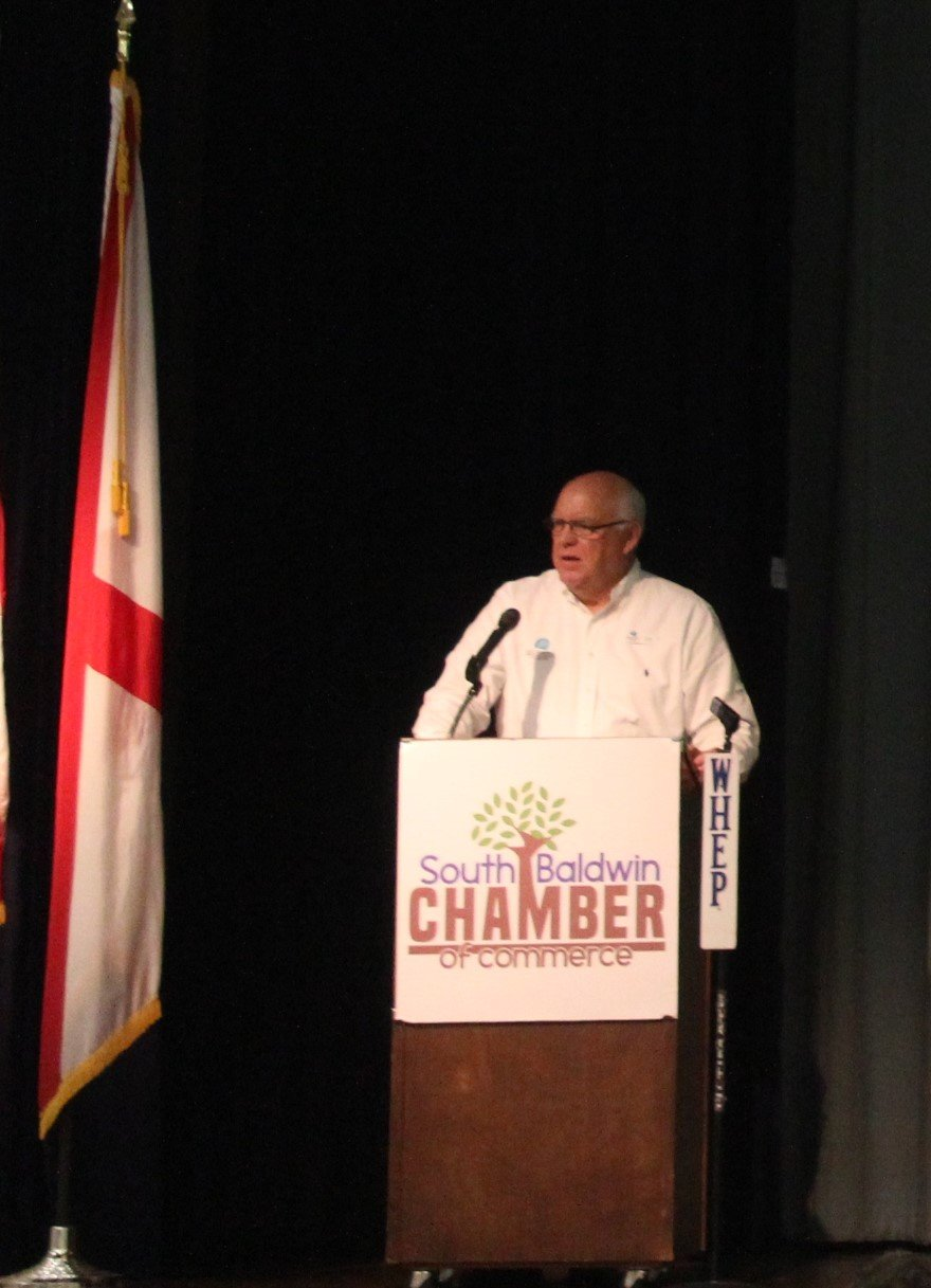 Herb Malone, President & CEO of Gulf Shores & Orange Beach Tourism