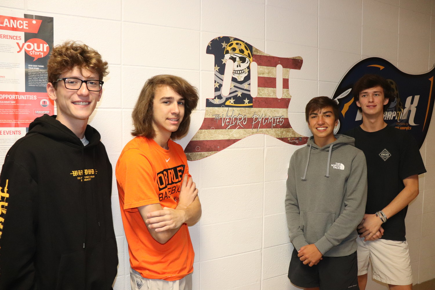 Students at Fairhope's PiraGraphiX career tech classroom designed the tickets and custom guitar for the show.