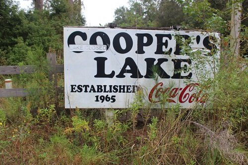 The original school sat on property known as Cooper's Lake, which is now closed. The original school gymnasium still sits on the property.