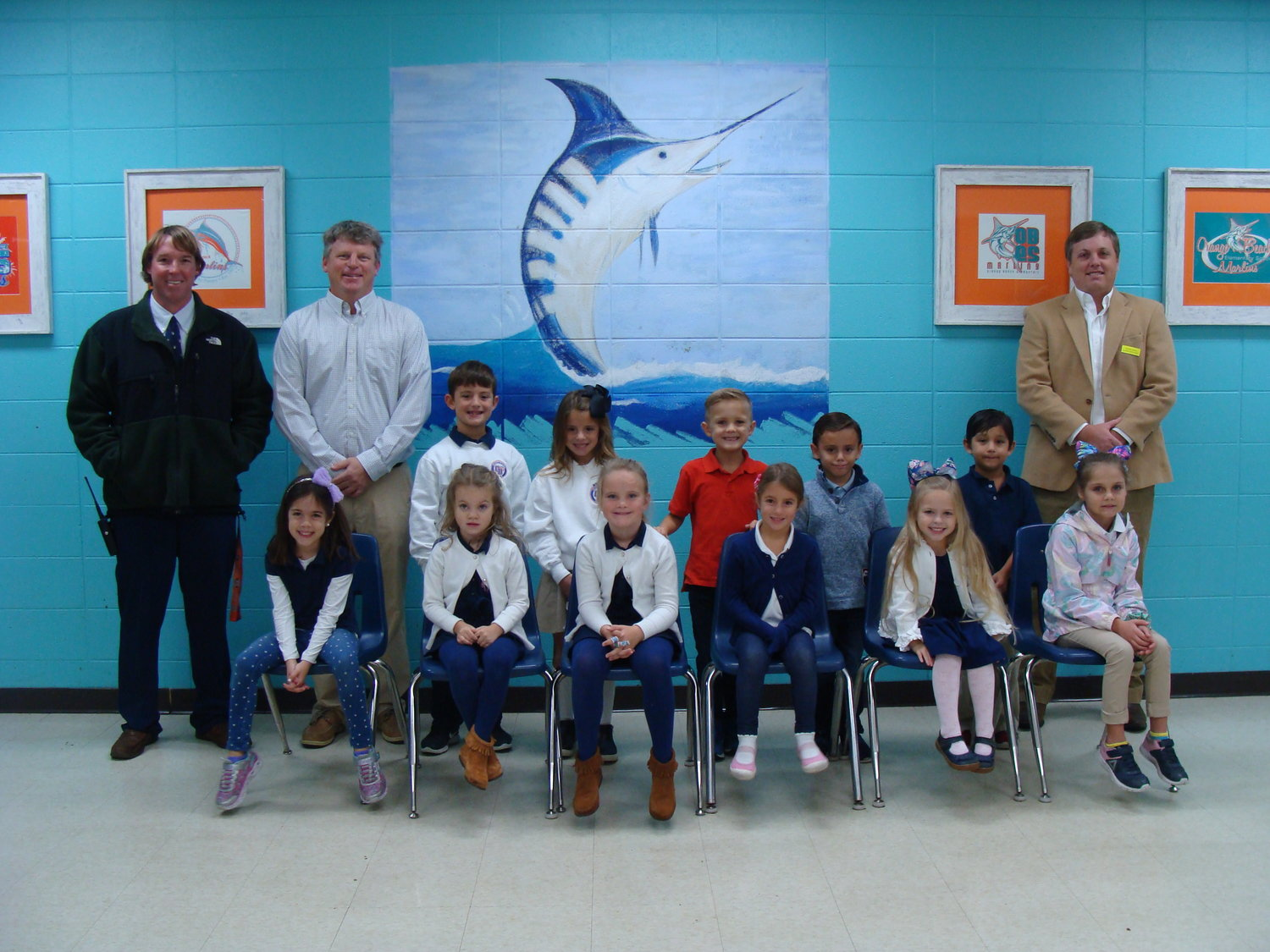 Orange Beach Elementary November Terrific Kids grades pre-k through second.