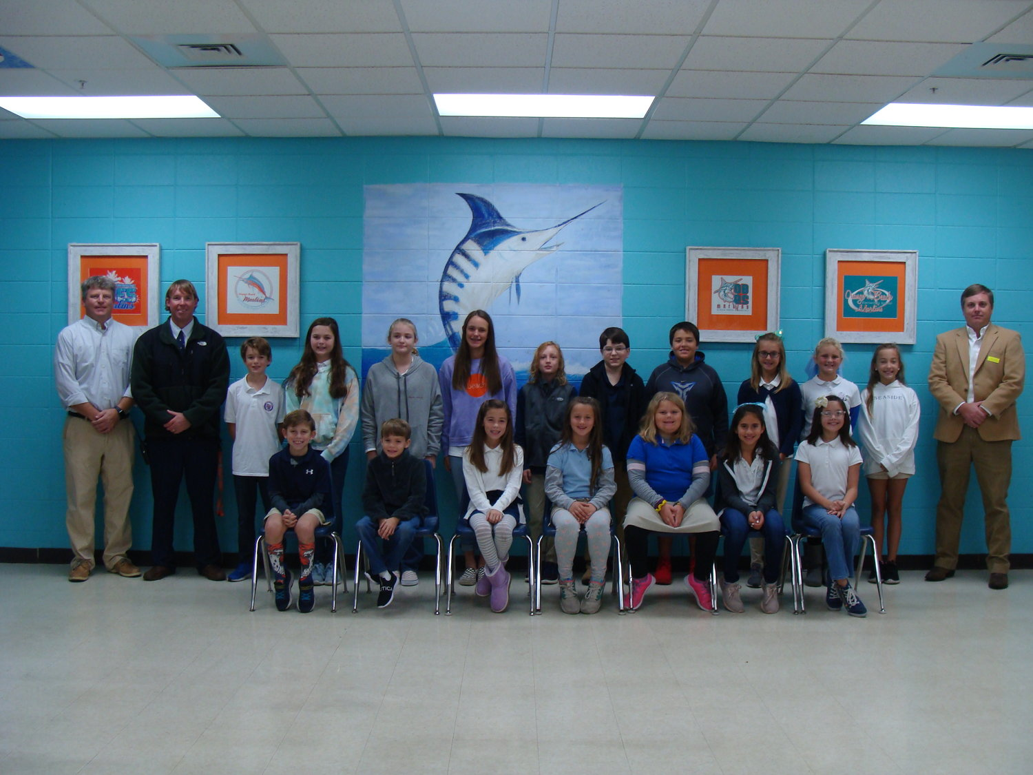 Orange Beach Elementary November Terrific Kids grades third through sixth.