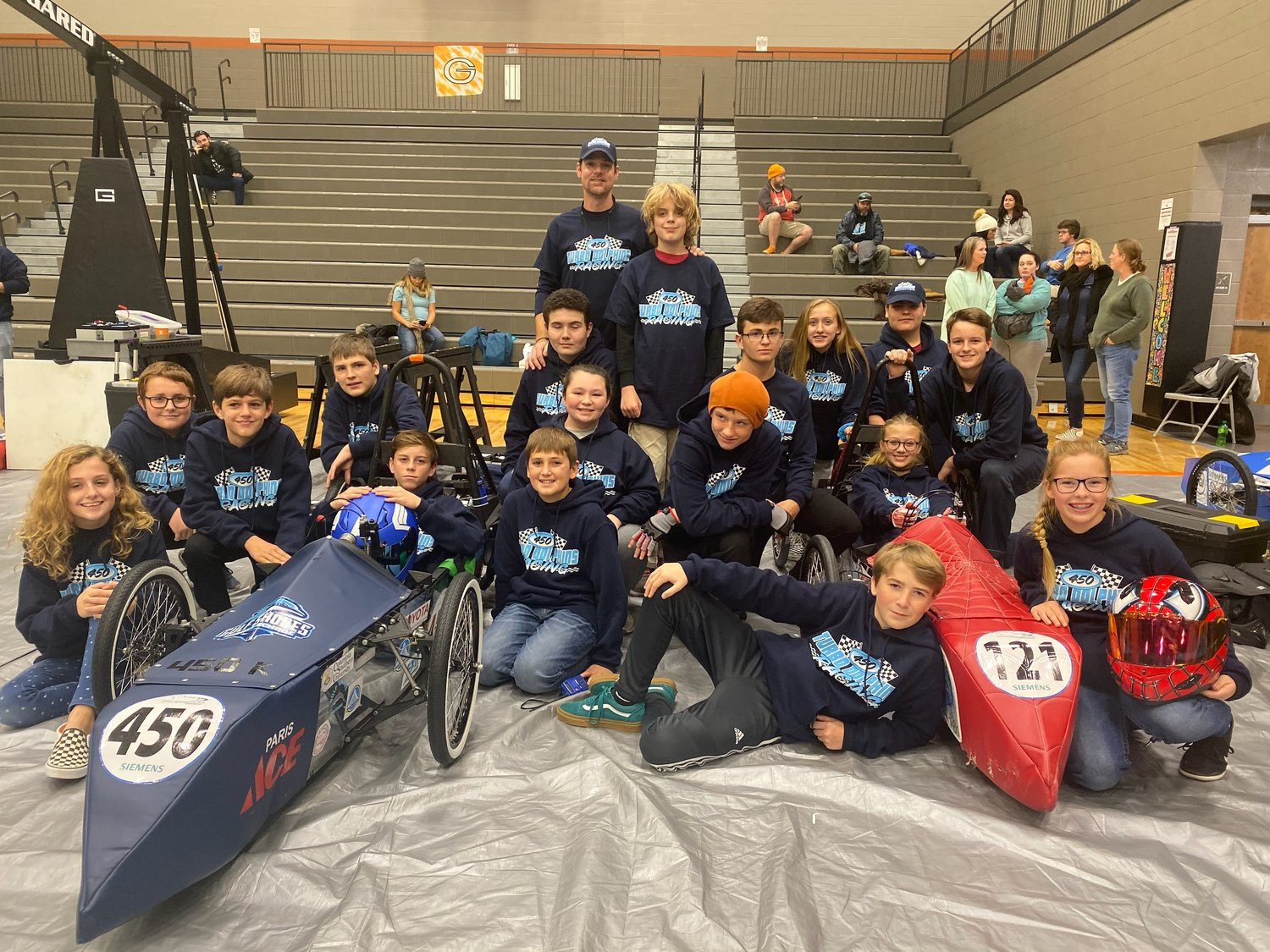 The Gulf Shores Middle School Turbo Dolphins