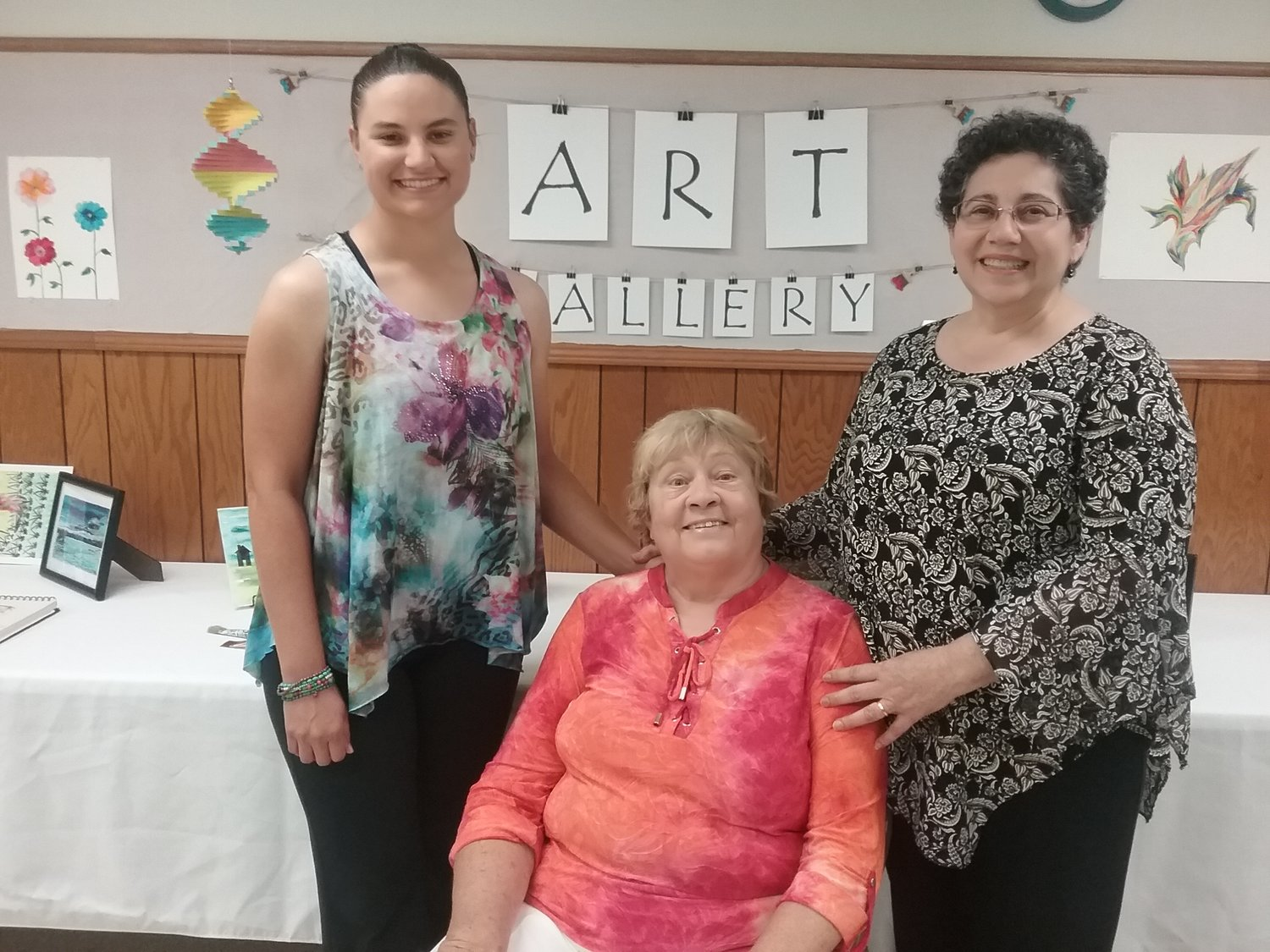 From Left: Elizabeth Rollings, Barbara Helgesen, Jean Rollings