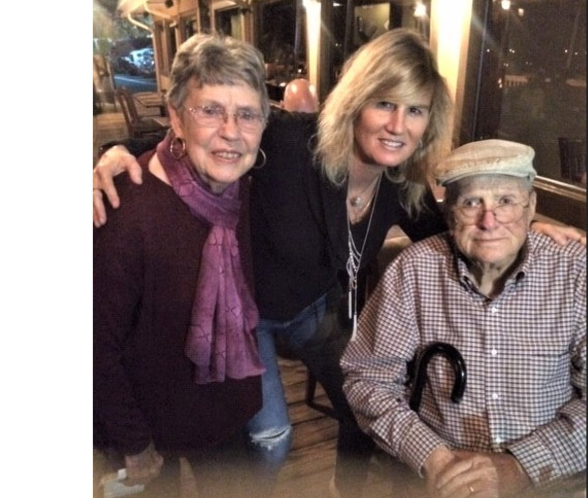 From left, Becky Dickinson, Ann Schilling, Bill Dickinson.