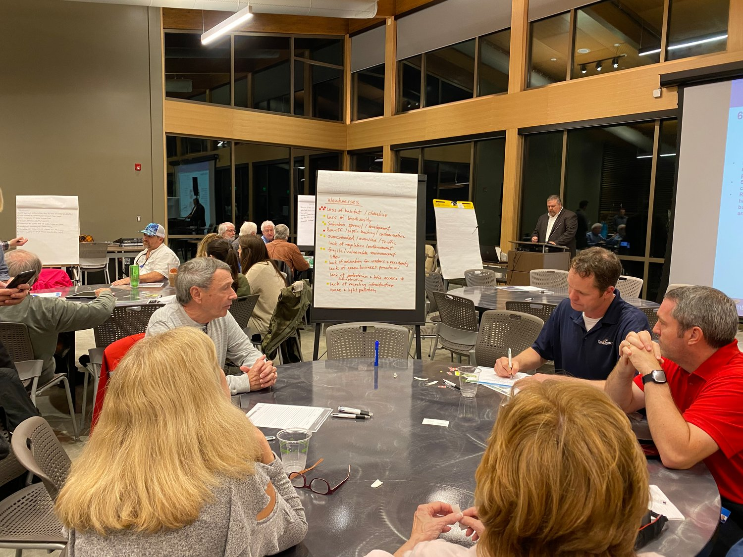 Local residents and city officials from Orange Beach and Gulf Shores participated in a Watershed Management Plan public input meeting.