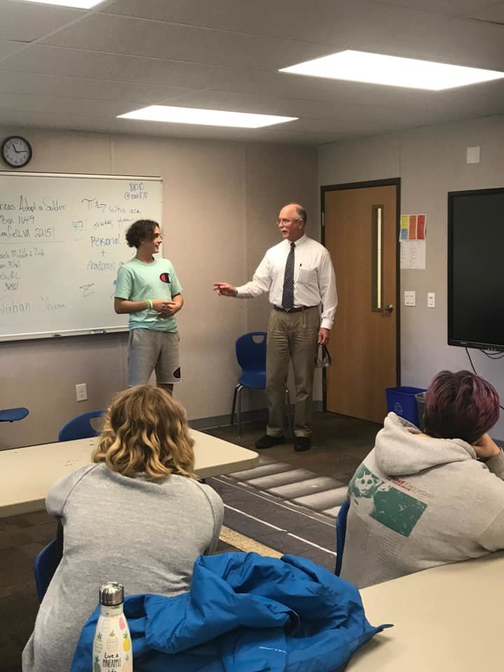 Baldwin County district attorney Bob Wilters visited the Orange Beach High School to speak to them about Drinking and Driving. The students were able to test out the fatal vision glasses and experience the effects of what it's like to be impaired.