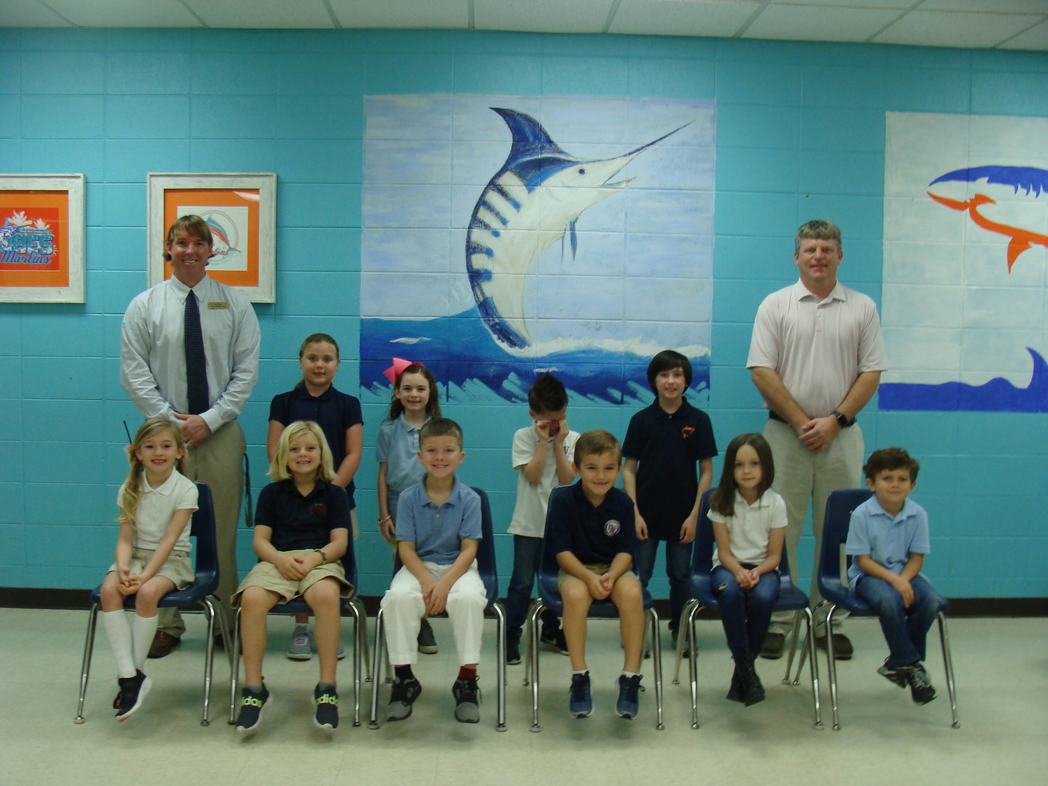 Pre-K – second grade