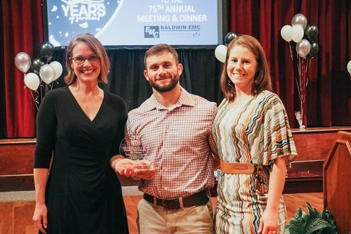 The Emerging Small Business award for 2020 went to CrossFit Pay Bay Minette.