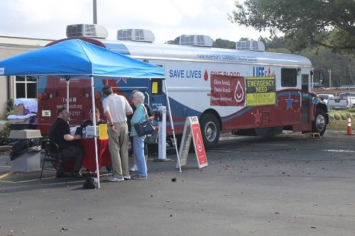 Baldwin EMC in Summerdale held its annual Spring Into Action Drive with LifeSouth on Thursday, March 19. Because of many cancellations due to the current coronavirus outbreak, the need for blood and blood platelets is now more critical than ever.